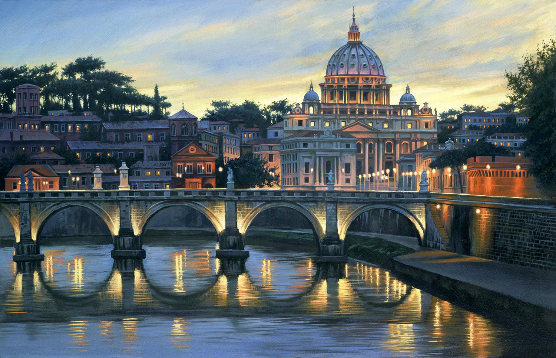An Evening in Rome Redo, Mon Sep 12, 2016,  4:31:43 PM,  8C, 8842x11852,  (64+0), 150%, bent 6 stops,   1/8 s, R91.7, G66.4, B92.8