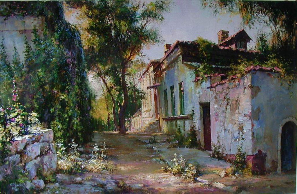 village-sunset-aka-old-country-villa